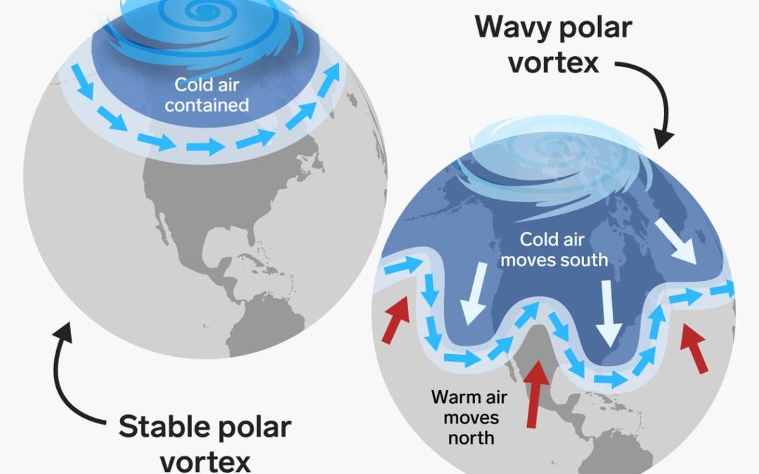 Analysis: Polar Vortex collapse causes heavy winter for North America and the Nordics