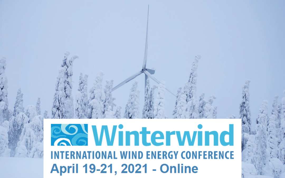 Kjeller well represented at the WinterWind 2021 conference on cold climate wind energy